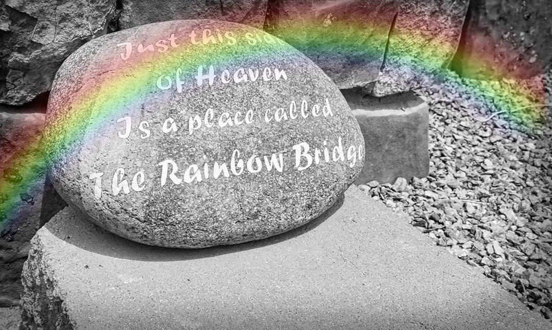 rainbow stone bridge